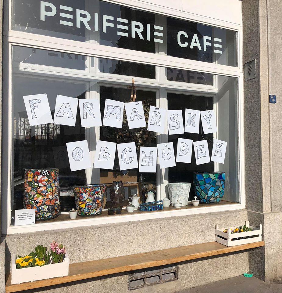 Periferie Cafe nabízí farmářské dobroty