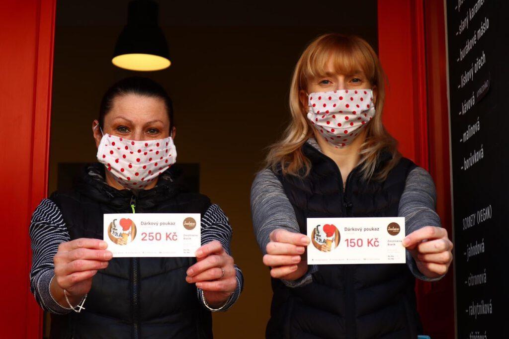 Zmrzlinárna v Braníku - podpořme ji v době koronavirové krize